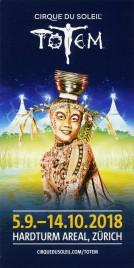 Cirque Du Soleil - Totem Circus Ticket - 2018