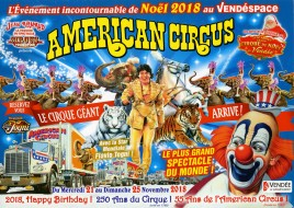 American Circus (Cancelled) Circus Ticket - 2018