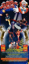 16. Celler Weihnachts Circus Circus Ticket - 2016