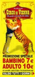 Circo di Vienna Circus Ticket - 2013