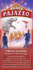 Circus Pajazzo Circus Ticket - 1999