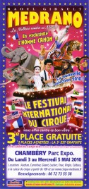 Cirque Medrano Circus Ticket - 2010