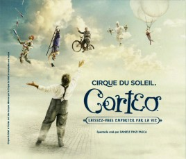 Cirque Du Soleil - Corteo Circus Ticket - 2018
