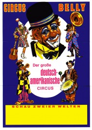 Circus Belly Circus Ticket - 1978