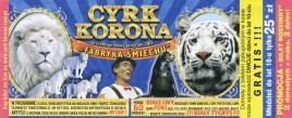 Cyrk Korona Circus Ticket - 2013