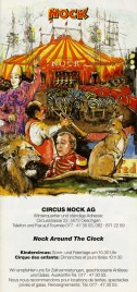 Circus Nock Circus Ticket - 1997