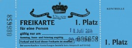 Circus Krone Circus Ticket - 2014