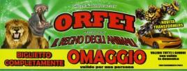 Circo Orfei Circus Ticket - 0