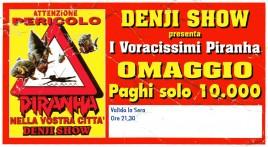 Denji Show Circus Ticket - 0