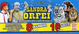 Circo Sandra Orfei Circus Ticket - 2019