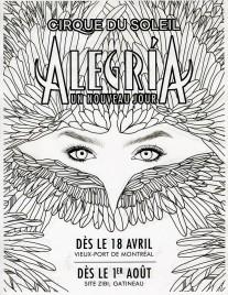 Cirque Du Soleil - Alegria Circus Ticket - 2019