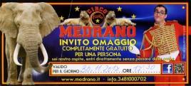 Circo Medrano Circus Ticket - 2017