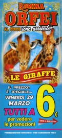 Circo Romina Orfei Circus Ticket - 2019