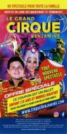 Le Grand Cirque Benjamins Circus Ticket - 2019