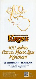 Circus Krone Circus Ticket - 2018
