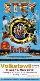Zirkus Stey Circus Ticket - 2019