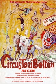 Circus Toni Boltini Circus Ticket - 1971