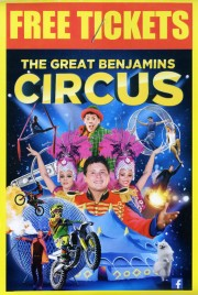 The Great Benjamins Circus Circus Ticket - 2019