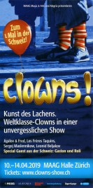 Clowns Circus Ticket - 2019