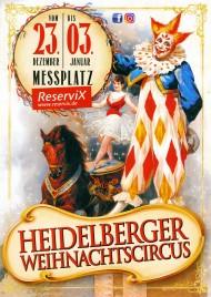 Heidelberger Weihnachtscircus Circus Ticket - 2017