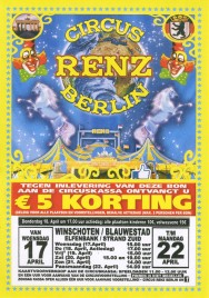 Circus Renz Berlin Circus Ticket - 2019