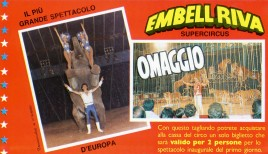 Circo Embell Riva Circus Ticket - 0