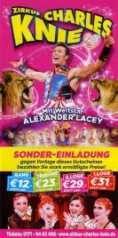 Zirkus Charles Knie Circus Ticket - 2019