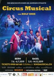 Circus Musical Circus Ticket - 2019