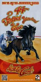 44eme Festival International du Cirque de Monte-Carlo Circus Ticket - 2020