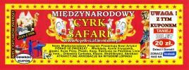 Cyrk Safari Circus Ticket - 2018