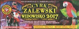 Cyrk Zalewski Circus Ticket - 2017