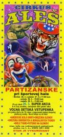 Cirkus Aleš Circus Ticket - 2015