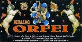 Circo Rinaldo Orfei Circus Ticket - 2012