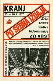 Österreichischer National Circus Elfi Althoff-Jacobi Circus Ticket - 1976