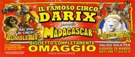 Circo Darix presenta Madagascar Circus Ticket - 2019