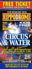 Hippodrome Circus Circus Ticket - 2001