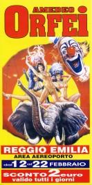 Circo Amedeo Orfei Circus Ticket - 2010