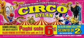 Circo Dylan Circus Ticket - 2016