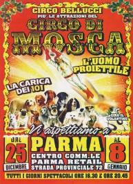 Circo Bellucci più Circo di Mosca Circus Ticket - 2016
