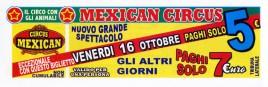 Mexican Circus Circus Ticket - 2015