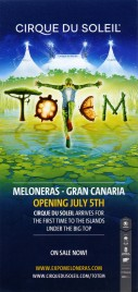 Cirque Du Soleil - Totem Circus Ticket - 2019