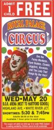 Royal Palace Circus Circus Ticket - 1998
