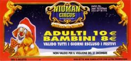 Niuman Circus Circus Ticket - 2008