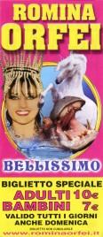 Circo Romina Orfei Circus Ticket - 2013
