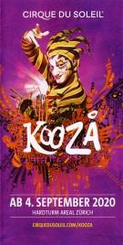 Cirque du Soleil - Koozå Circus Ticket - 2020