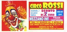 Circo Rossi Circus Ticket - 2006
