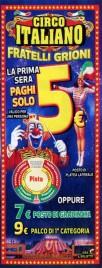 Circo Italiano Circus Ticket - 2019